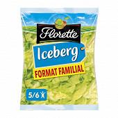 Florette salade laitue iceberg format familial sachet 450g