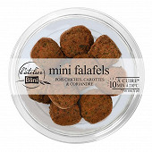 L'Atelier Blini 8 falafels, pois chiches carottes et coriandre 125g