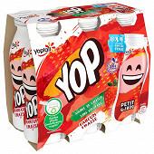 Ptit yop aromatisé fraise 6x180g