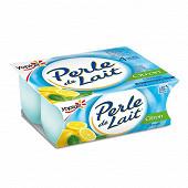 Perle de lait citron 4x125g