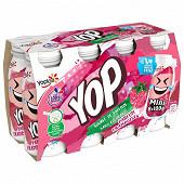 Yop mini goût framboise 8x100g