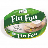 Fromagerie Milleret ovale fin fou 180g 20%MG