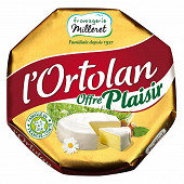 Fromagerie Milleret l'ortolan  250g - 55%mg  offre plaisir
