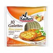 Kauffer's 10 galettes de pommes de terre 670g