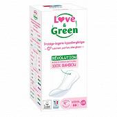 Love & green protége slips naturel 0% x30