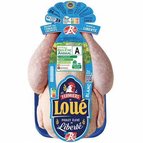 Loué poulet fermier blanc label rouge