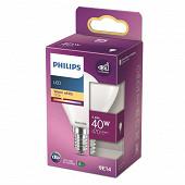 Philips ampoule LED classic 40W P45 E14 WW FR ND RF boîte de 1