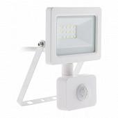 Projecteur LED 10w blanc avec detecteur ip44