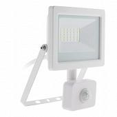 Projecteur LED 20w blanc avec detecteur ip44