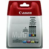 Canon Cartouche d'encre CLI-571 C/M/Y/BK Pack