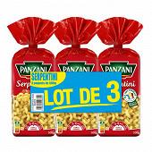 Panzani pâtes serpentini 500g x 3