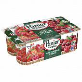 Panier de Yoplait standard fruits rouges 8x130g