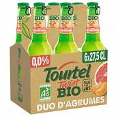 Tourtel twist bio duo d'agrumes 6x27.5cl Vol.0%