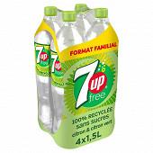 """7up zero sucres """"format familial"""" pet 4x1.5l"""