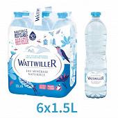 Wattwiller eau minérale naturelle plate 6x1,5L