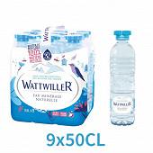 Wattwiller eau minérale naturelle 9x0,5L