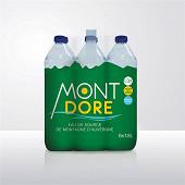 Mont dore eau de source de montagne d'Auvergne 6 x 1.5 l