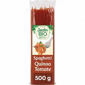 Jardin bio etic spaghettis quinoa tomates bio  500g