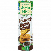 Jardin bio goûters fourrés cacao à l'épeautre bio 300g
