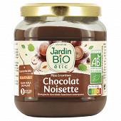 Jardin bio etic pâte à tartiner noisette cacao bio 350g