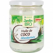 Jardin bio huile de coco désodorisée bio 430 ml