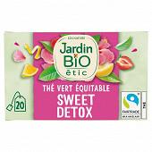 Jardin bio thé vert détox bio étui + 20 sachets 30g