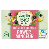 Jardin bio thé vert minceur bio étui + 20 sachets 30g