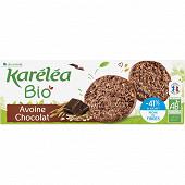 Karelea sablé avoine chocolat réduit en sucre bio 150g étui + sachet