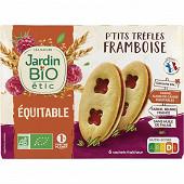 Jardin bio p'tits trèfles framboise bio 6 sachets fraicheurs 175g