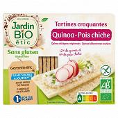 Jardin bio tartines quinoa pois chiche sans gluten bio 150g