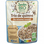 Jardin bio trio de quinoa et de sésame bio sans gluten 220g