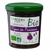 Verger des Alpilles confiture extra figue rouge 370g bio