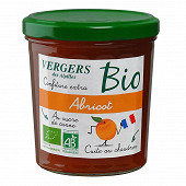 Vergers des Alpilles confiture extra bio abricot 370g