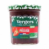 Vergers des Alpilles confiture extra bio fraise 370g