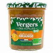 Verger des Alpilles confiture extra vergers bio oranges 370g
