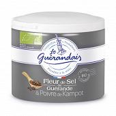 Le guerandais fleur de sel de guérande au poivre de kampot boîte 125g