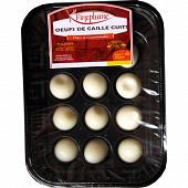 Charmille oeufs de cailles cuits s-at x 12