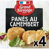 Grand Fermage panés au camembert 100g
