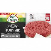 Isla Délice steak haché façon bouchère halal 6x100g