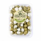 Père Olive olives fromage & basilic 400g