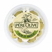 Père Olive olives feta & basilic 150g