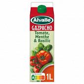 Alvalle gazpacho tomate menthe & basilic brique 1l