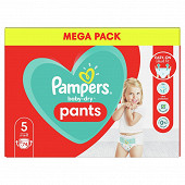 Pampers baby dry pants couches-culottes geant taille 5 74 culottes 12-17kg