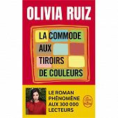 Olivia Ruiz - La commode aux tiroirs de couleurs