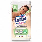 Lotus coton bébé pure natural x70 bri