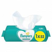 Pampers lingettes sensitive x52