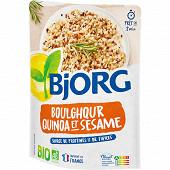 Bjorg boulgour quinoa sésame doypack 250g
