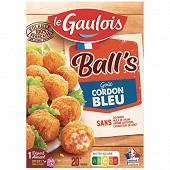 Le Gaulois Ball's goût cordon bleu 200g