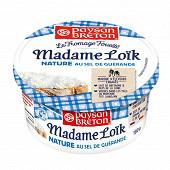 Paysan Breton fromage fouetté Madame Loïk nature au sel de Guérande 180g
