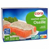 Cora saumon sauce à l'oseille 400g